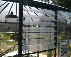 Estufa de Jardim Oasis em Policarbonato para cultivo de plantas 7
