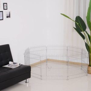 Parque para Cachorros Vedação para Cachorros Animais Rede de arame Medidas 63 x 60 CM