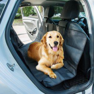 PawHut Capa Protetora Banco Carro Cão Impermeável Capa protetora Assento Animal de estimação antiderrapante e Resistente 147x137cm