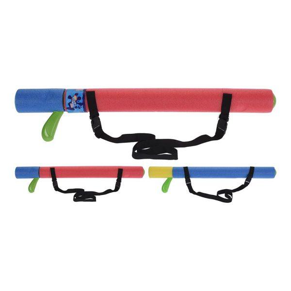 Pistola De Água 75Cm 2 Cores Sortidas Com Alça Para Transporte 2 Cores Sortidas: Rosa- Azul / Azul -Amarelo