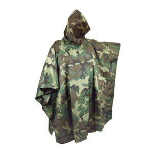 Poncho Camuflagem Especial Caça