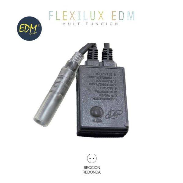 Programador Para Tubo Flexilux 2 Vias Ip44 45M Edm. Apto Par