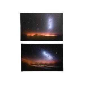 Quadro De Luzes Da Galaxia