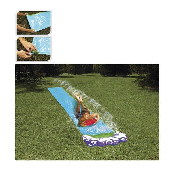 Rampa Deslizante Com Agua Medidas 480X71Cm