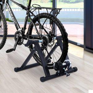 Rolo de Treino para Bicicleta em espaços interiores Ciclotreinador de Ciclismo de Cor Preta