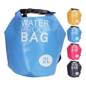 Saco Desportiva Resistente A Água 2Lt 4 Cores Sortidos (Laranja
