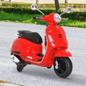 Scooter Elétrico para crianças com USB MP3 Luz para Crianças de a partir de 3 Anos de Carga 25 kg