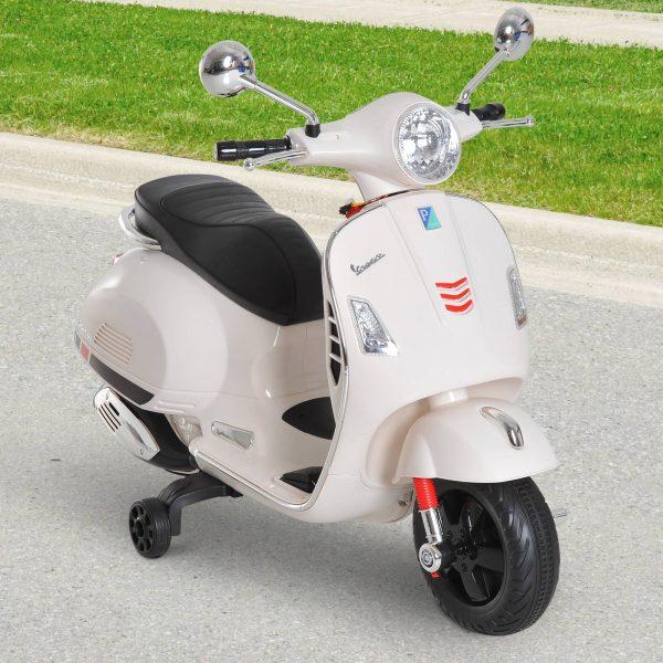 Scooter Elétrico para crianças de a partir de 3 anos com USB MP3 Carga 25 kg