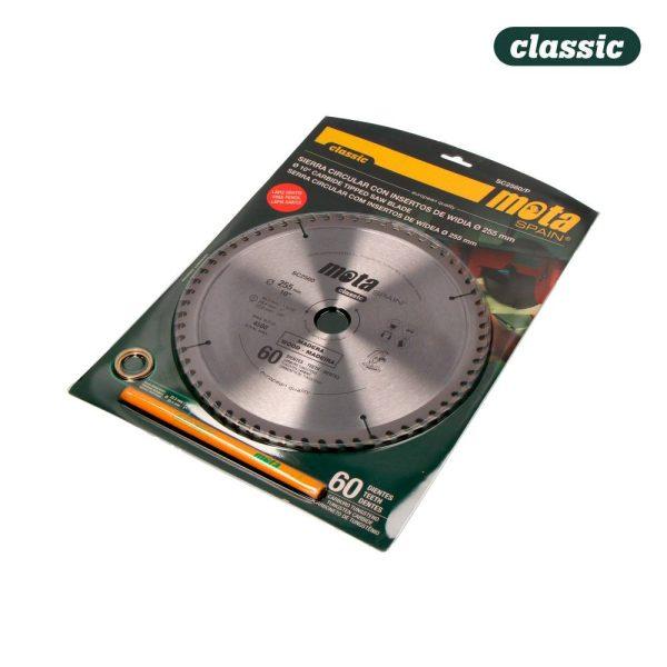 Serra Circular Widia 255Mm 60Dtes C/Lp18 Sc2560/P