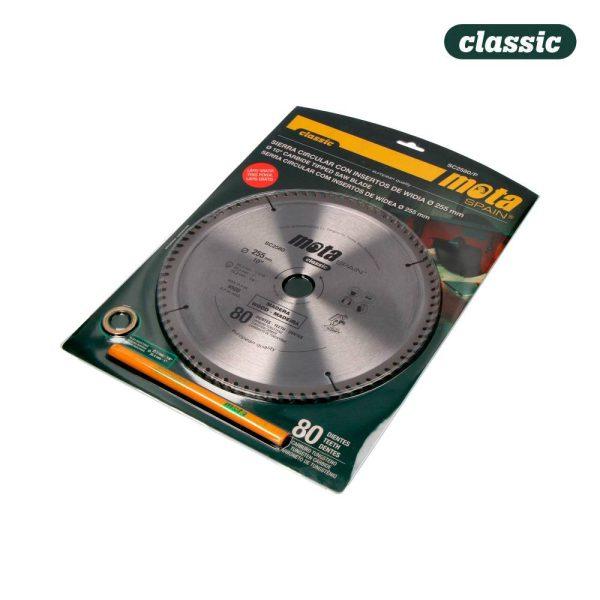 Serra Circular Widia 255Mm. 80 Dtes C/Lp18 Sc2580/P