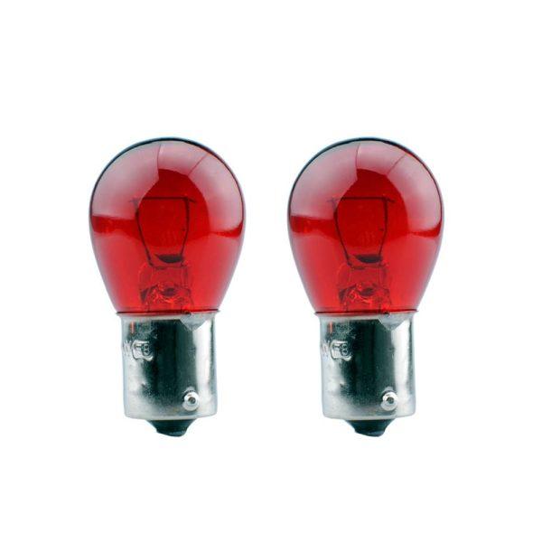 Set De 2 Lampadas Automovel 12V 21W Bau 15 S Ambar 1 Polo