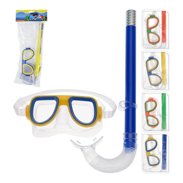 Set Snorkel Infantil 4 Cores Sortidas 175X50X420Mm