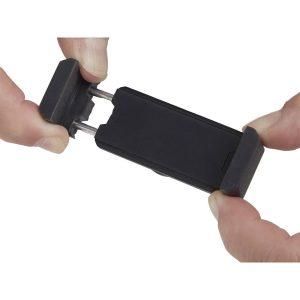 Suporte Smartphone Carro Abs Tpr 67X24Mm 35G Gira Até 180º E