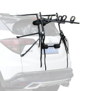 Suporte de bicicletas para capacidade do carro 2 bicicletas no máximo 70kg 75x50x10cm