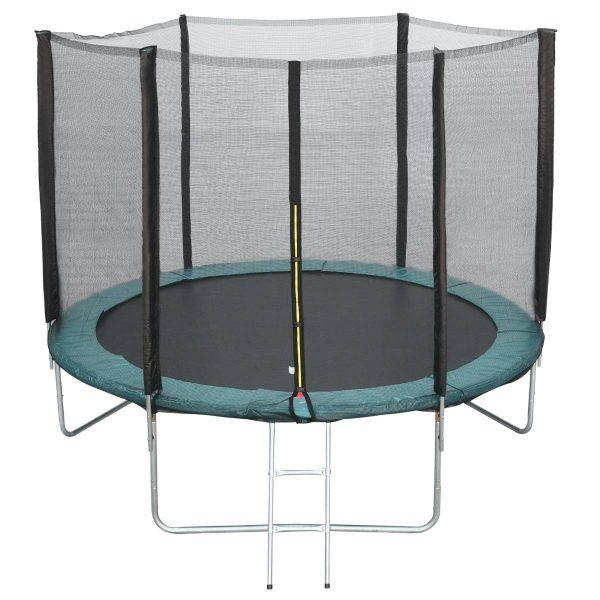Tampa de proteção Borda da cama elástica 305 cm Verde Trampolins