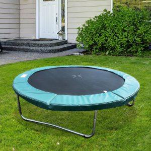 Tampa de proteção de borda Trampolim 244 cm Verde Trampolins Trampolim