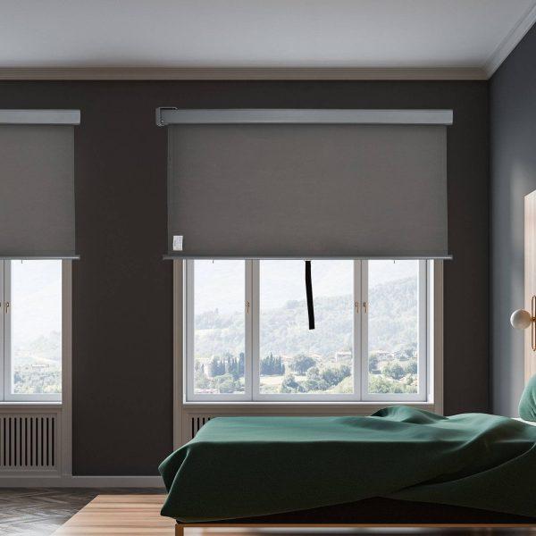 Toldo Privacidade para Varanda Vertical e Horizontal 160x250 cm Cinza