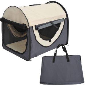 Transportadora Saco de Transporte Cão Gato Animais de estimação Dobrável de Viagem
