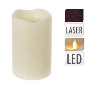 """Vela Led Laser 5"""" (8X8X13Cm)"""