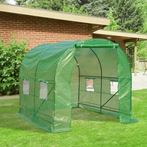 Estufa para Pequenos Cultivos na Horta, Quintal e Jardim – 2.50x2x2 metros