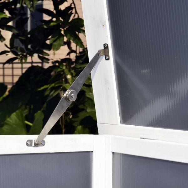 Galinheiro em Madeira Espaçoso com Bandeja de Limpeza - 160x75x80cm