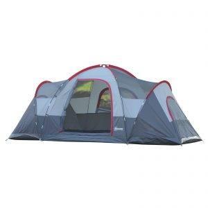 tenda Barraca de acampamento grande com bolsa de transporte 455x230x180 cm